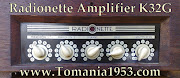 RADIONETTE AMPLIFIER K 1 2 3