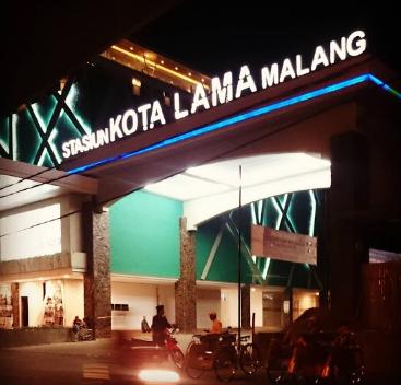 Cara pesan dan Naik Gojek - Grab di Stasiun Kota Lama Malang yang Aman