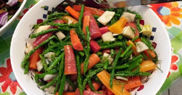 Marinated Spring Vegetables