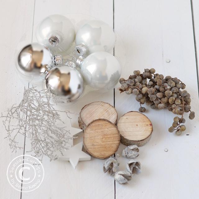 DIY weihnachtliche Tischdeko, weihnachtliches Giveaway