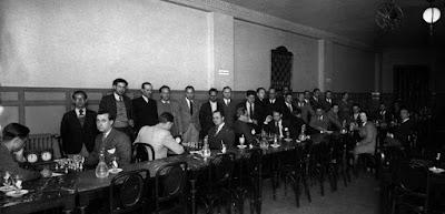 Partido de ajedrez Comtal-Barcelona, 1932