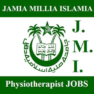 Jamia Millia Islamia, JMI, New Delhi, Physiotherapist, freejobalert, Sarkari Naukri, Latest Jobs, jmi logo
