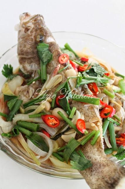 Ikan Kerapu Stim Ala Thai