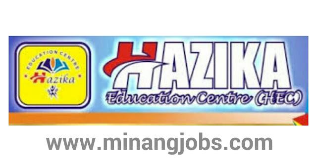 Lowongan Kerja Sumbar Hazika Education Centre (Kursus Bahasa Inggris) Padang