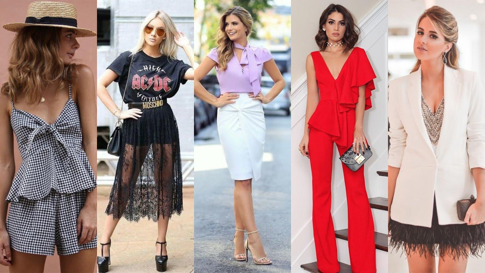 a72d8f717 Como não pode faltar duas vezes por ano... vamos a esse maravilhoso resumão  das principais tendências da moda feminina que agora se trata da primavera  verão ...