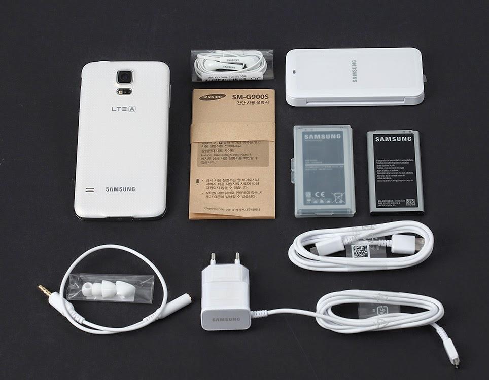 Immagine contenuto confezione Galaxy S5