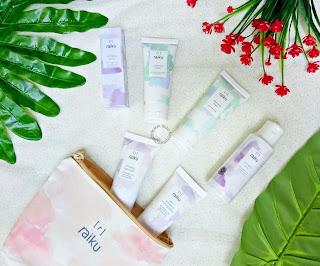all product raiku beauty
