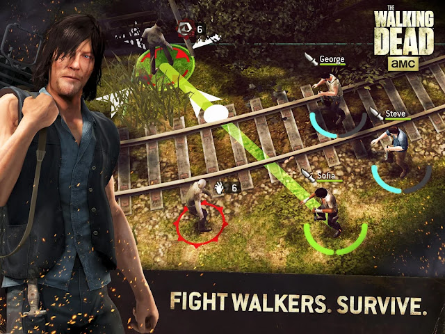 Download The Walking Dead No Man's Land v1.1.1.35 Mod Apk+Data For Android