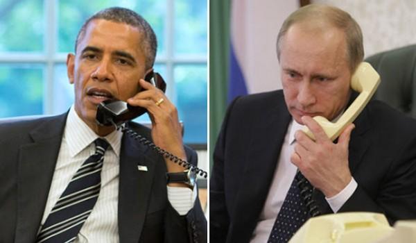 Lagi Obama Telepon Putin: Stop Serangan Udara di Suriah!