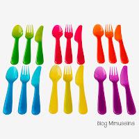 blog mimuselina alimentación bebé utensilios necesarios para comer bebé cubiertos ikea