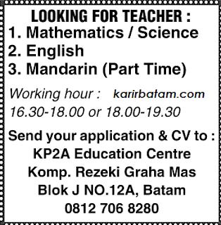Lowongan Kerja KP2A education Centre