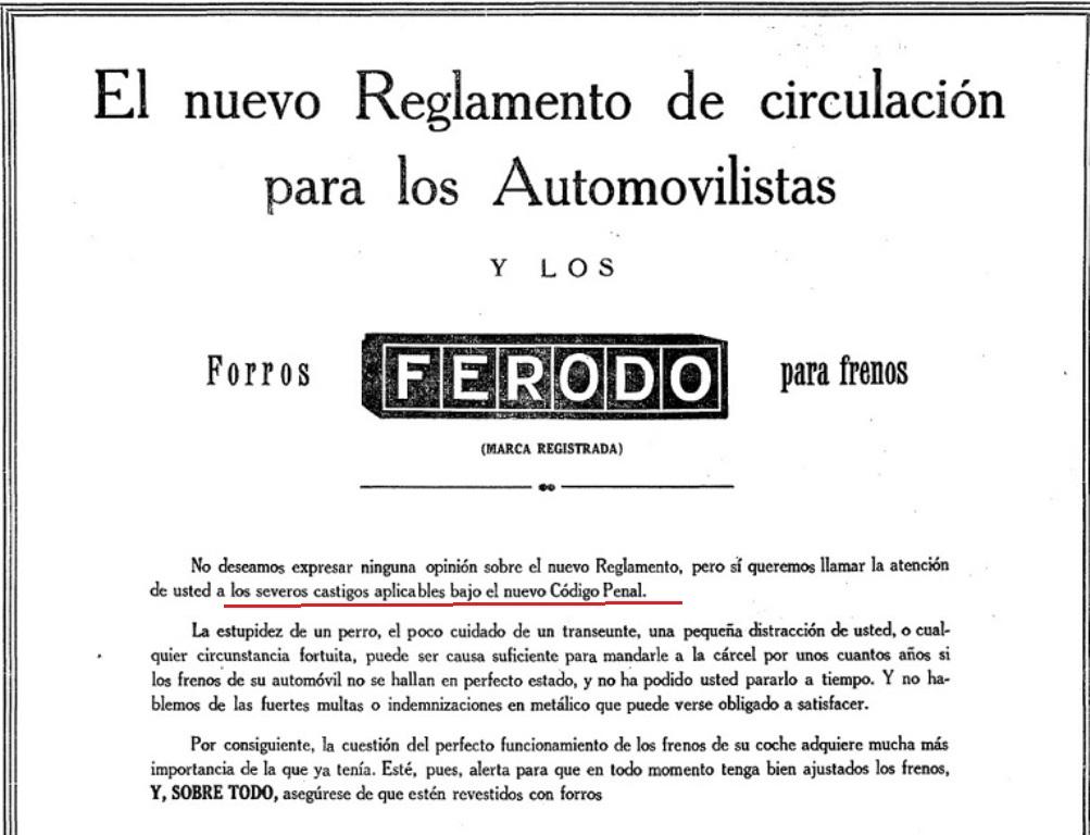 Historias de las autoescuelas y del tr fico el c digo for Porte y trafico de estupefacientes codigo penal