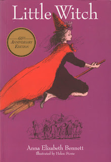 03/ Little Witch by Anna Elizabeth Bennett with Illustrations by Helen Stone