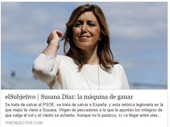 Susana Díaz: la máquina de ganar