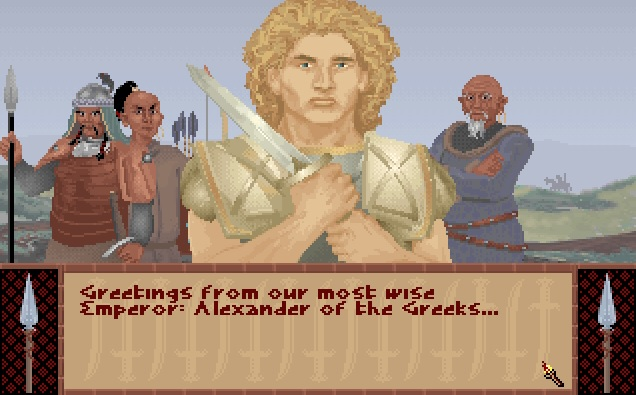 Alexander the Great from Sid Meier's Civilization