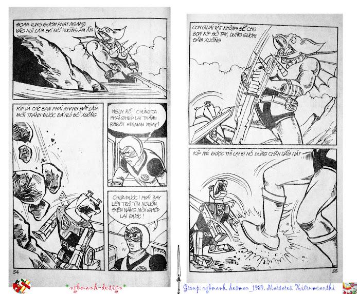 Dũng Sĩ Hesman tập 2 - hesman xuất hiện trang 29
