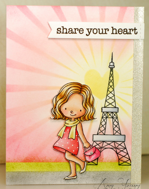 a thousand sheets of paper share your heart