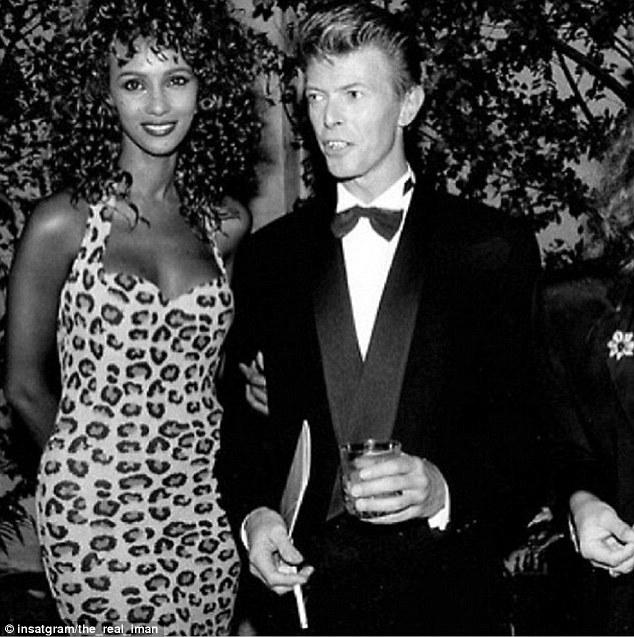 DRAGON: Iman & David Bowie / That Something Called Love
