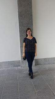 Clothes & Dreams: 16 in 2016: Vila polka dot tee