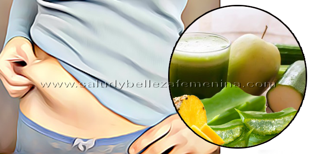 Elixir verde para quemar grasa en 7 días, si tienes el  colón irritable o tienes problemas gástricos, te aseguro que la combinación del Gel pulpa de Sábila,  pepino, manzana piña, y naranja en este elixir verde durante 1 semana, te limpiará el organismo, liberarás toxinas además de gases estomacales