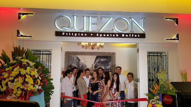 PRESS RELEASE: Indulge your gastronomic cravings with QUEZON