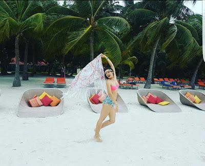 Aye Myat Thu At Maldives