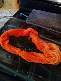 how to dye yarn with food color