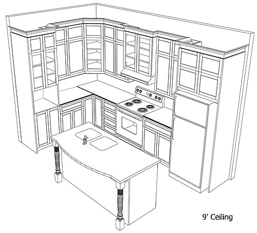 Kitchen Cabinet Drawings: Kitchen Trends: Kitchen Cabinets Plans