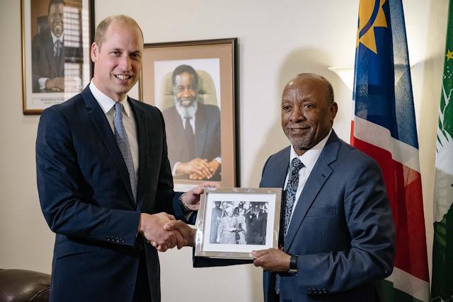 Książę William w Namibii - DZIEŃ 1