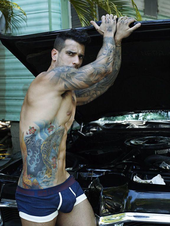Diego De Castro Gomes Rick day for CIN2 Underwear