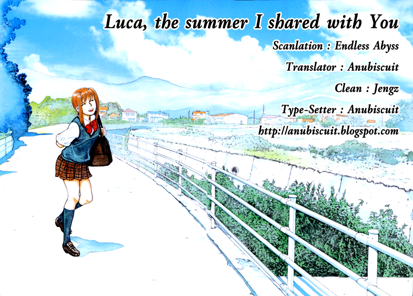 Luca the summer I shared with You 10-Time enough for LOVE
