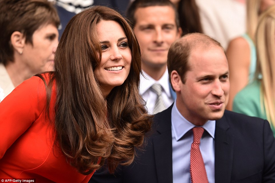 The Duke and Duchess of Cambridge made their first appearance at Wimbledon this year today