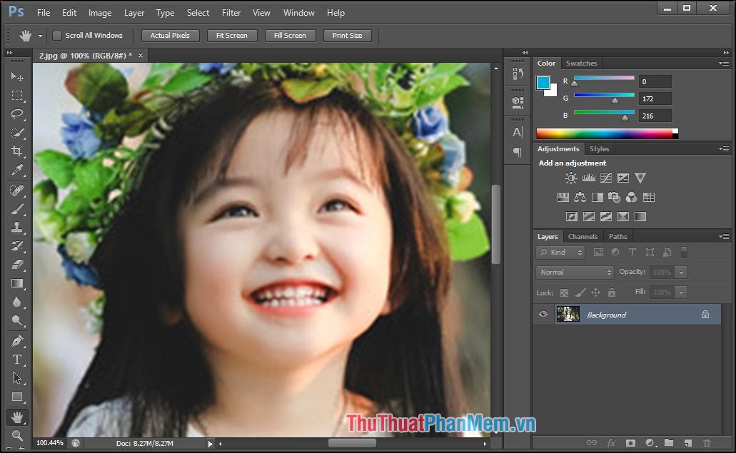 Hướng dẫn làm nét hình ảnh hơn bằng Photoshop