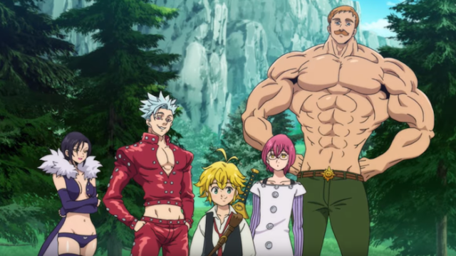 Nanatsu no Taizai: Wrath of the Gods Trailer Anime Dirilis