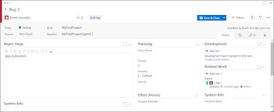 Agile & Scrum Çalışma Metodolojisi ile Team Foundation Server Üzerinden Test ve BUG Yönetimi