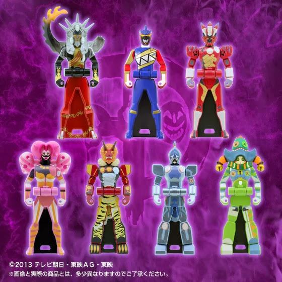 Firestarter's Blog: Zyuden Sentai Kyoryuger Ranger Key ...
