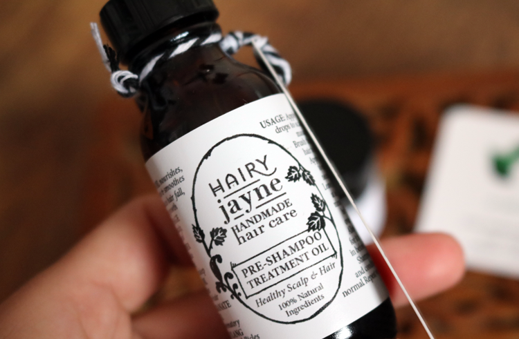 Hairy Jayne Pre-Shampoo Treatment Oil review
