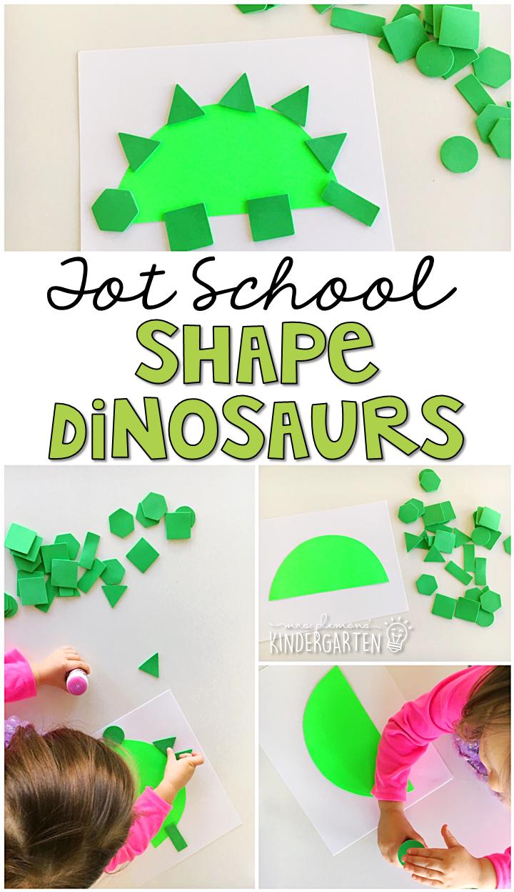 Tot School: Dinosaurs - Mrs. Plemons\' Kindergarten