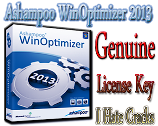 Get Ashampoo WinOptimizer 2013 Genuine Key
