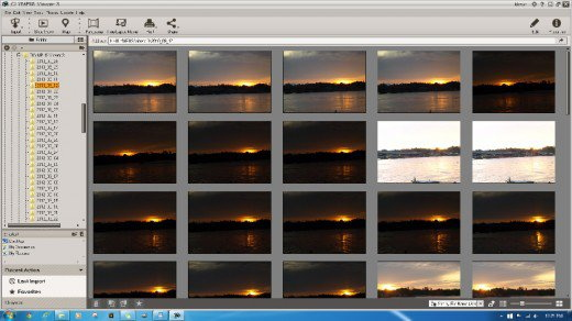 Olympus Viewer 3 Folder Management Mode