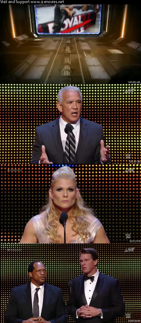 WWE Hall of Fame 2017 WEBRip 480p