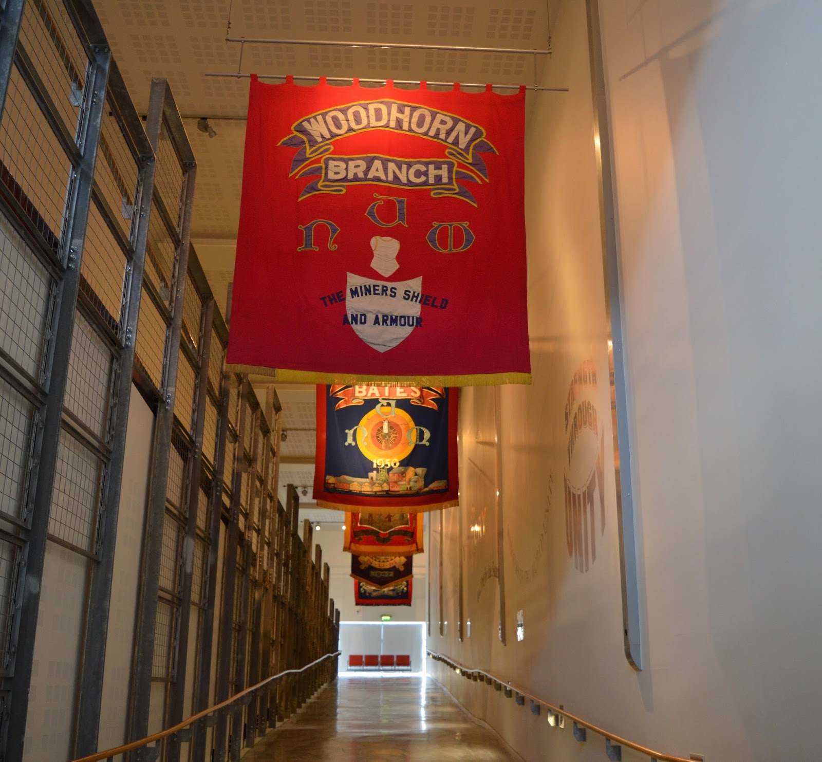 10 Reasons to Visit Woodhorn Museum (A Review) - woodhorn banners