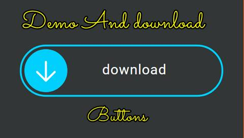 Animated Demo and download button for blogger