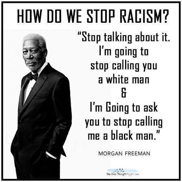 Morgan Freeman Reveals How To Eliminate Racism