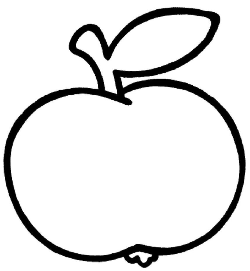 Äpfel ausmalbild gratis malvorlagen Äpfel zum ausmalen