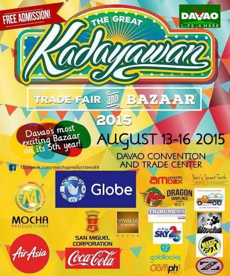 The Great Kadayawan Trade Fair and Bazaar 2015