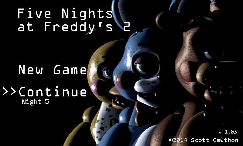 play 5 nights at freddys 2