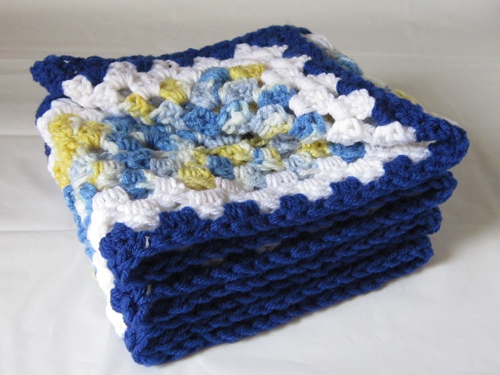 free crochet pattern, granny rectangle, scarf