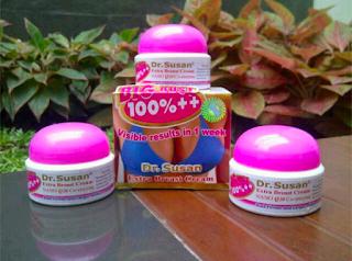 Cream Payudara Herbal Dr.Susan Hasil Cepat Maksimal