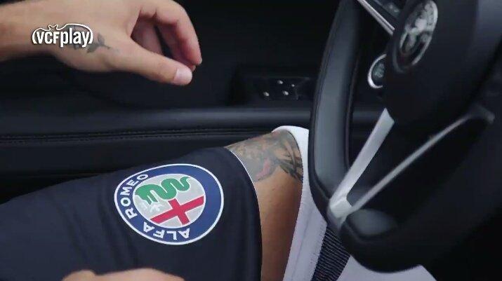 Valencia Sign Alfa Romeo Deal CR Gold - Alfa romeo apparel